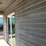 Plank Effect Stucco Finish