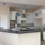 Kitchen Cabinetry and Quartz Countertops