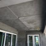 Stucco Ceiling on Rear Patio